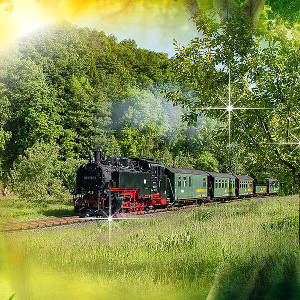 Märchenhafte Zeit in der Bimmelbahn