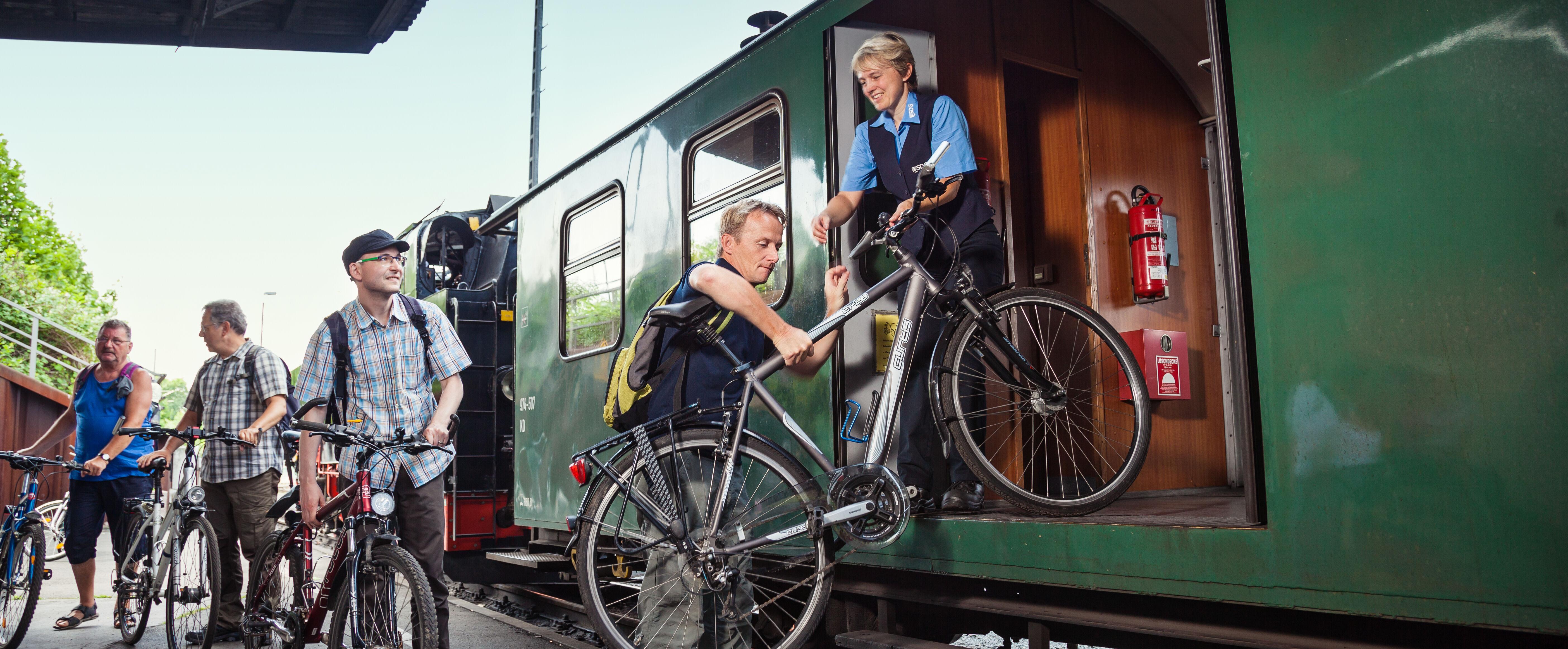 Fahrradmitnahme - kein Problem